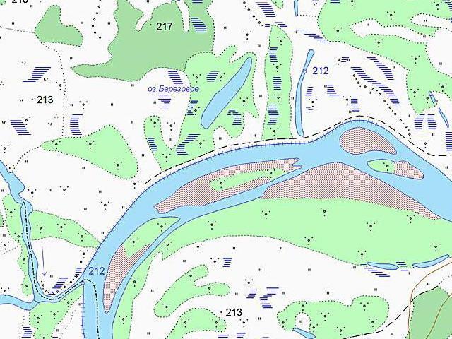 карта уфы рыбалка