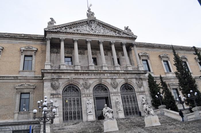 スペイン国立図書館 - マドリー...