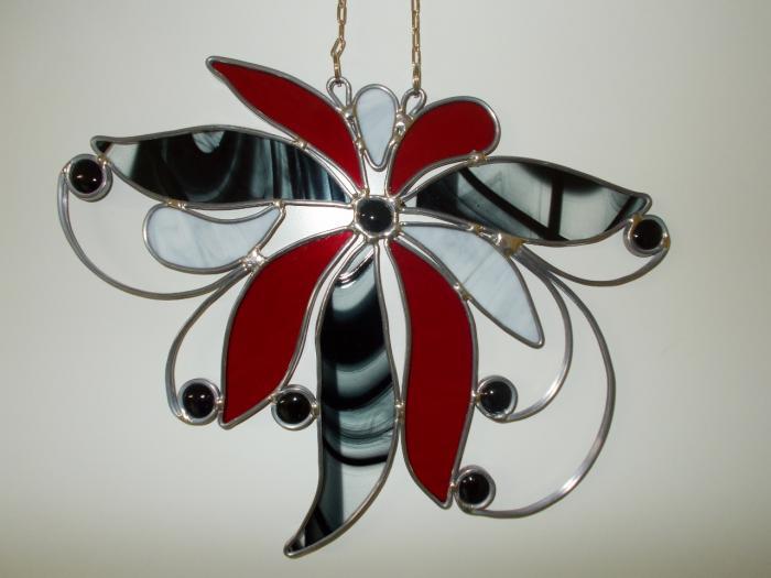 Tiffany glasdesign english for Fensterbilder vorlagen