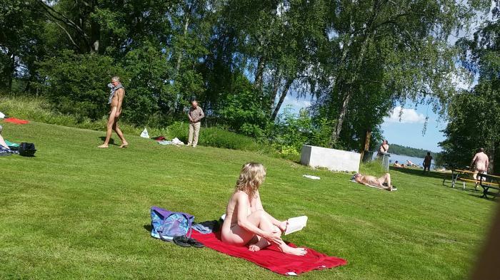 nudist beach sweden