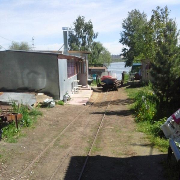 Место на лодочной базе новосибирск