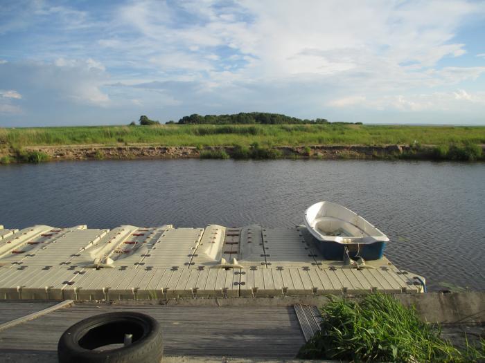 стоянка для лодок в приозерске