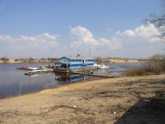 лодочная станция белуга. рогожкино