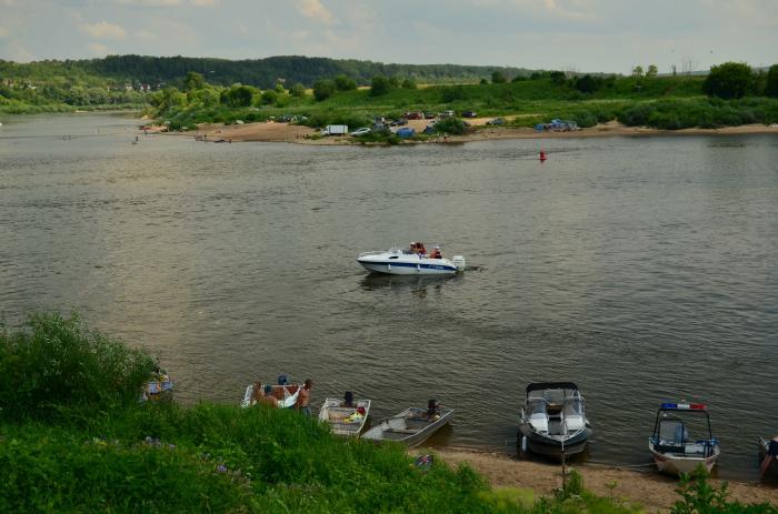 катание на лодках в калуге