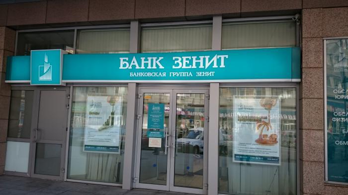Где находится зенит банк