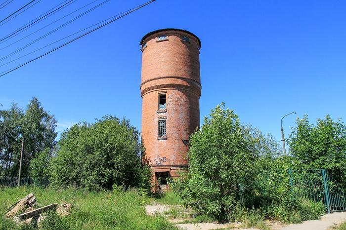 Водонапорная башня г видное