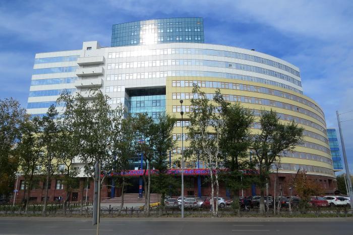 Наружный контур 16-этажного здания - нового корпуса нефтегазового университета по ул мельникайте практически закрыт