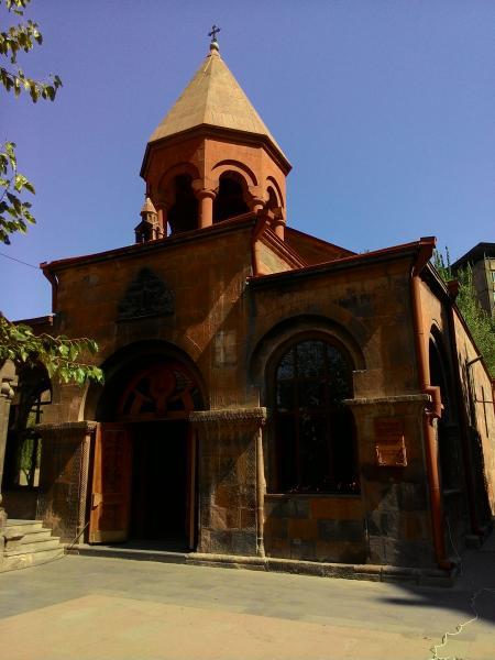 Zoravor Surp Astvatsatsin Church - Yerevan