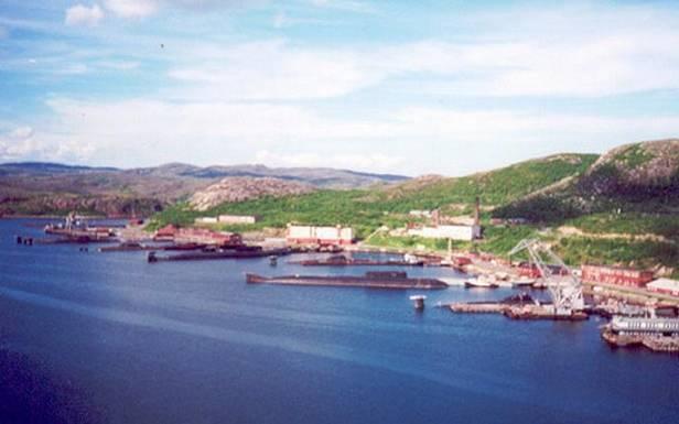 Bolshaya Lopatka Naval Base