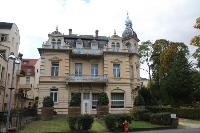 Das Elvis Hotel Die Villa Grunewald In Bad Nauheim Bad
