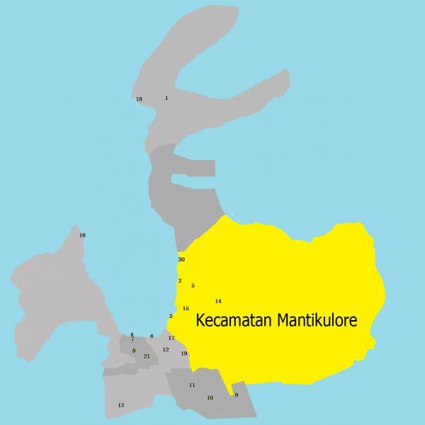 Kecamatan Mantikulore - Kota Palu   kota kecamatan