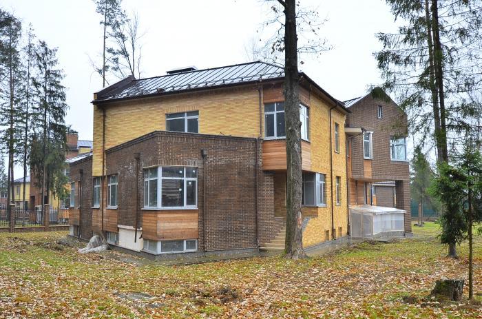 Коттеджный посёлок жаворонки-1