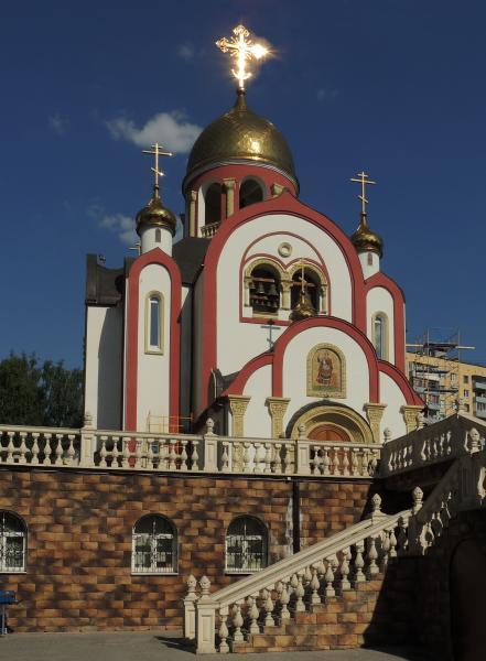 Храм святого георгия победоноста в видное картинки