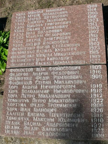 Солдаты похоронен в братской могиле киев