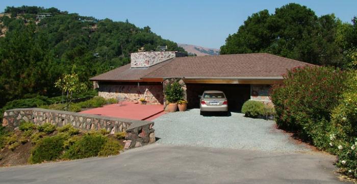 Berger house by frank lloyd wright san anselmo california for Frank lloyd wright houses in california