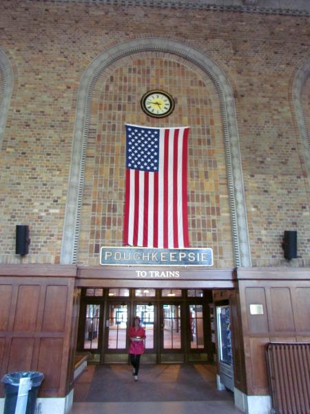 Exterior: Metro North / Amtrak Poughkeepsie Train Station
