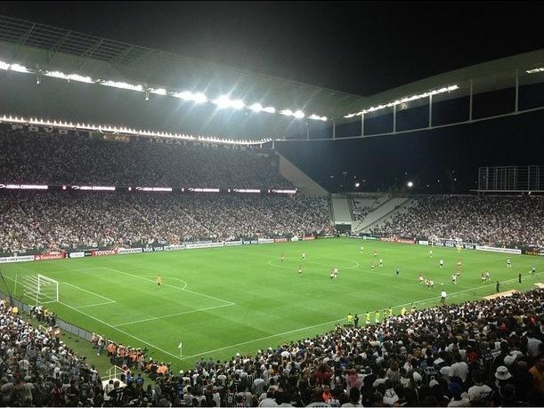 arena corinthians stadium world cup 2014 s227o paulo