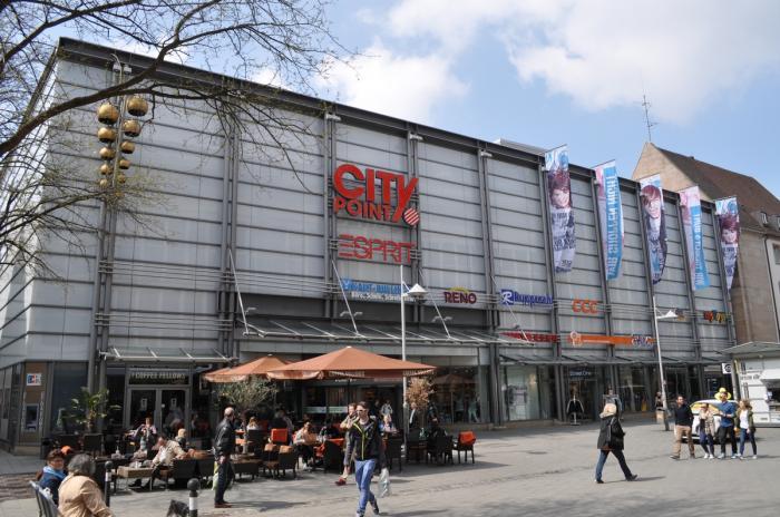 Citypoint Nürnberg Geschäft Einkaufsmeile