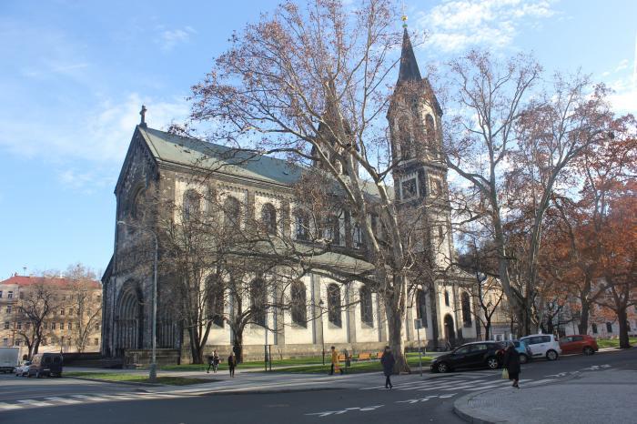 Православный храм в праге, собор св кирилла и мефодия / katedraln