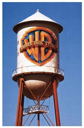 WB Water Tower - Burbank, California