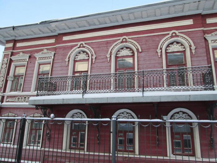 Дом дыдина/ музыкальная школа в городе вологда