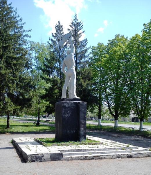 Заказать памятник Ангарск Эконом памятник Волна Шадринск