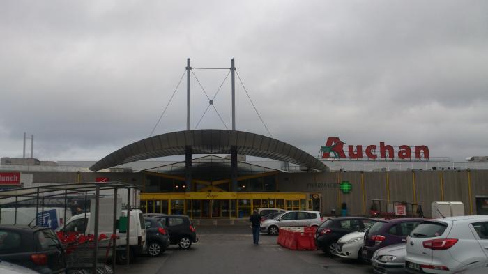 Auchan dieppe - Auchan porte des alpes ...