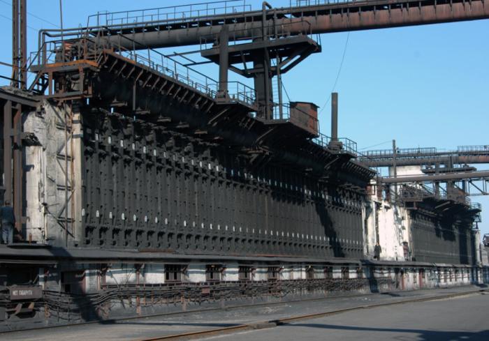 В ДНР загорелся завод