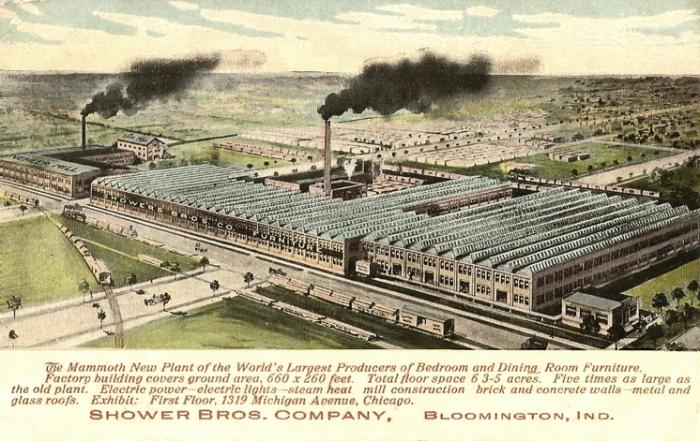 Showers Brothers Company Factory