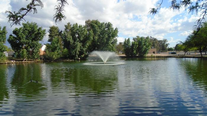 Pond Tucson Arizona