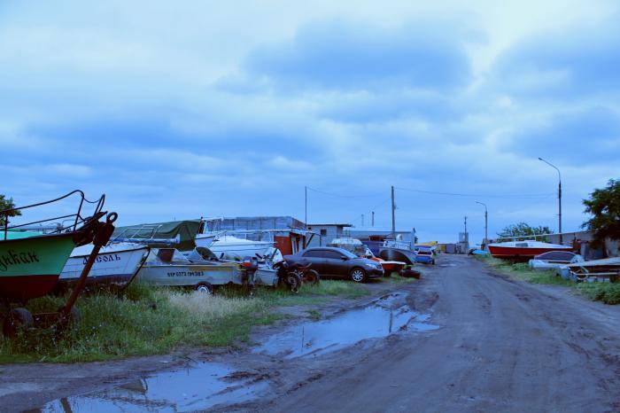 лодка скадовск