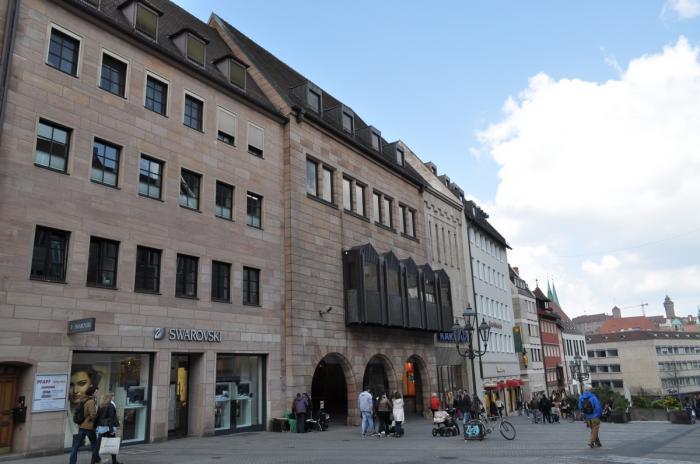 Karstadt Nürnberg Lorenzkirche