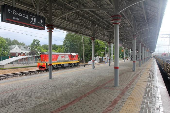 станция белокаменная мцк фото
