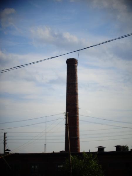 дымовая труба высотой 20 метров