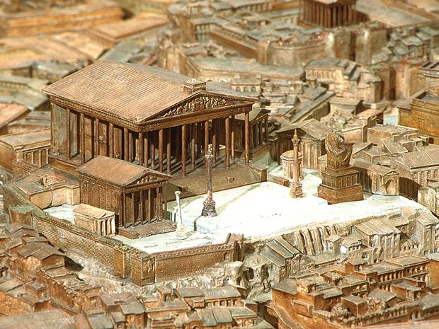 Temple of jupiter optimus maximus rome for Architecture romaine