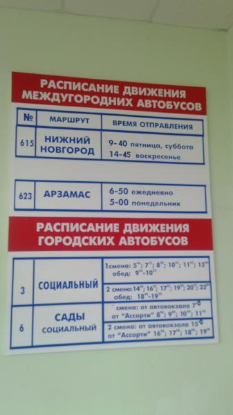 Расписание автобусов нижний новгород выкса автостанция щербинки