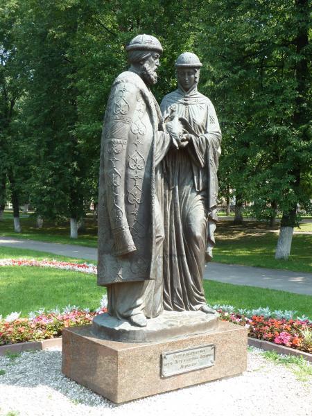Памятник Петру и Февронии - Ярославль