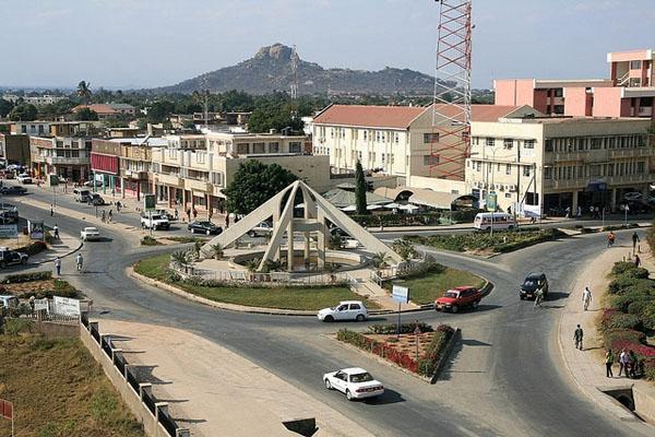 Tanzániai város