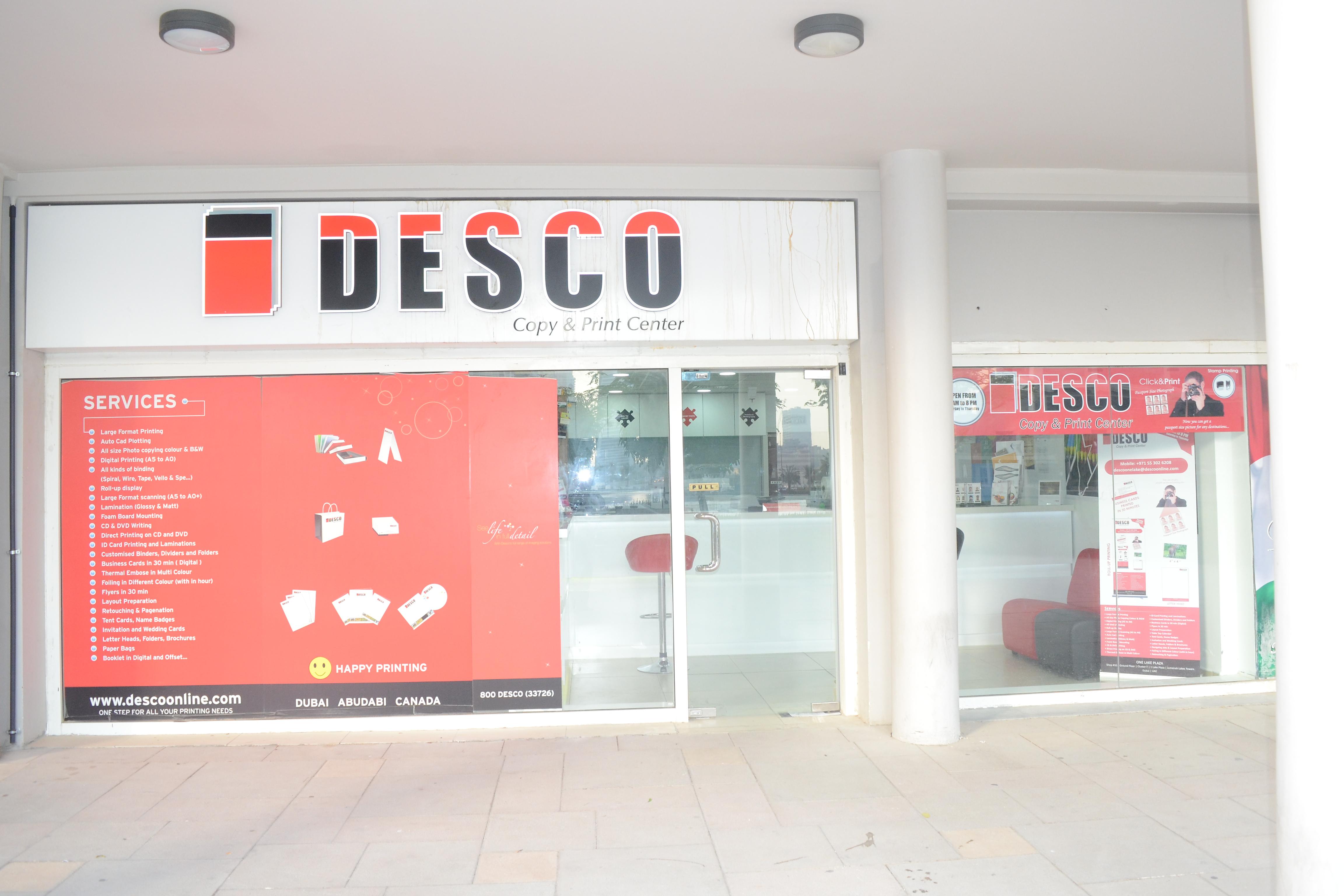 Desco copy print center 1 lake plaza jlt dubai reheart Choice Image