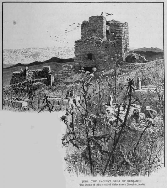 ギブア - エルサレム