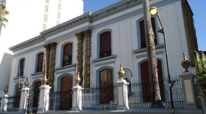Templo mas nico de la gran logia de venezuela caracas for Casa clasica caracas