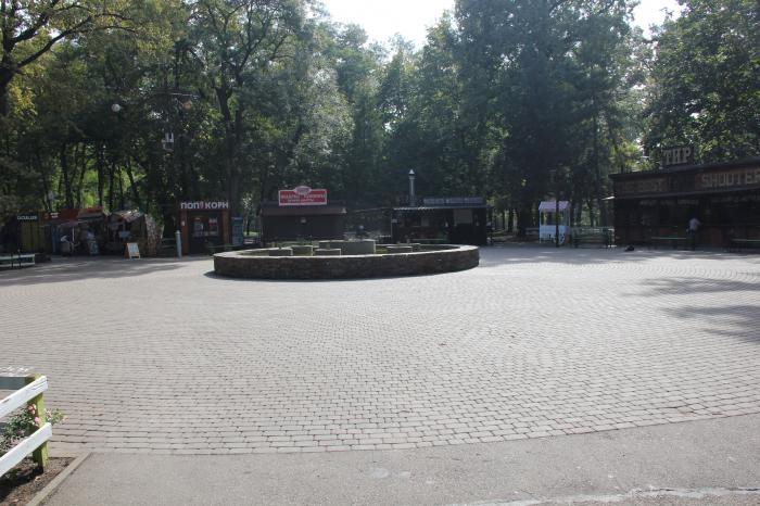 Парк «Чистяковская роща» - достопримечательность Краснодара | 466x700