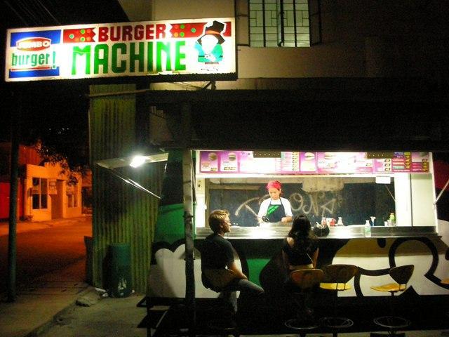 burger machine