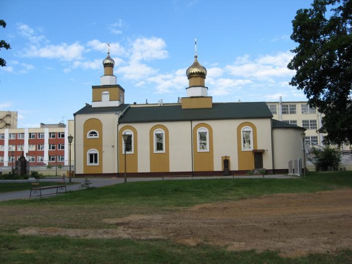 Храм святого великомученика победоносца георгия лида