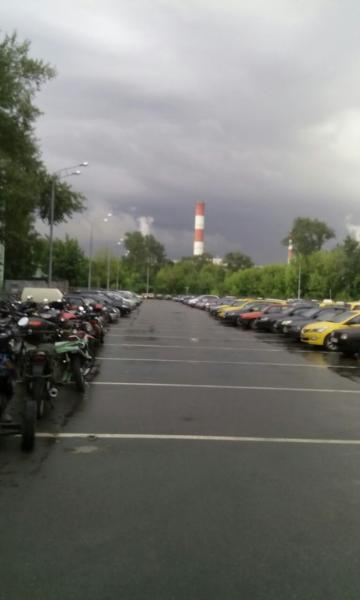 Грузовая автостоянка район лефортово