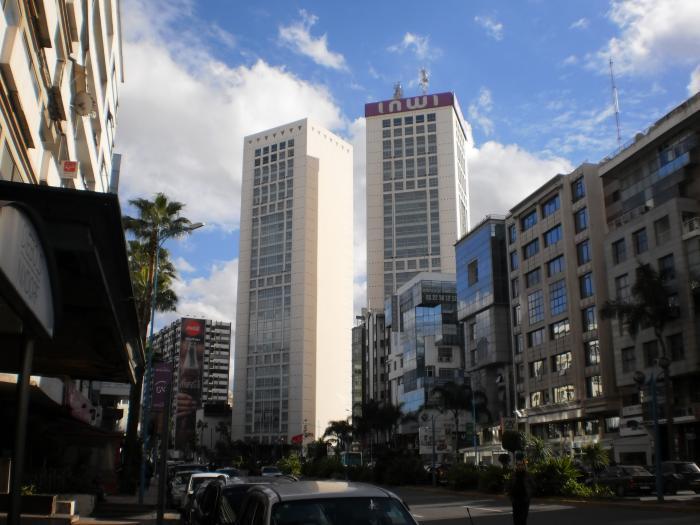 Twin Center - Casablanca | hôtel, hébergement, gratte-ciel ...