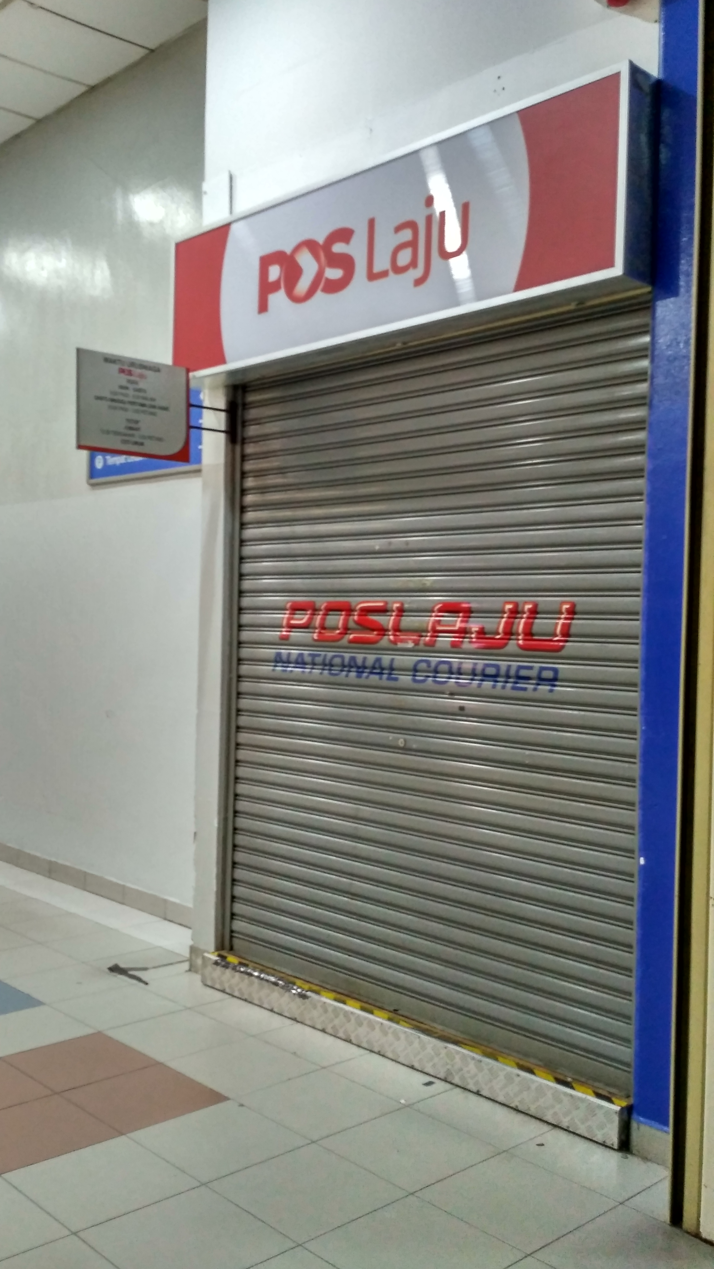 Pos Laju Cawangan Serahan Jalan Sultan Pj Superdupergurl