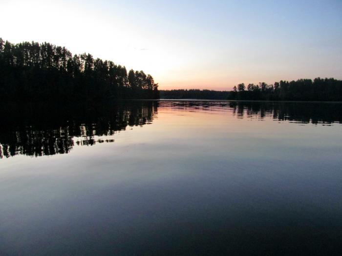 Озеро Комсомольское, Ленинградская область