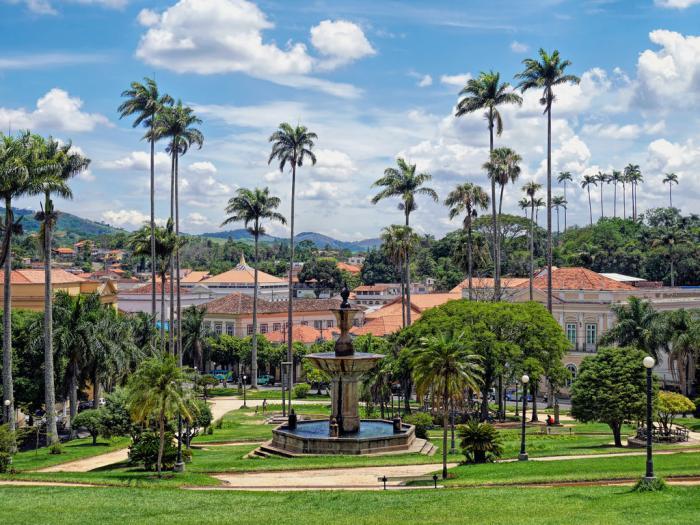 Resultado de imagem para Praça Barão de Campo Belo