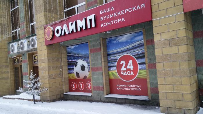Адреса Букмекерских Контор Олимп В Москве